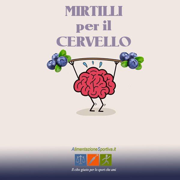 Antocianine del Mirtillo: antociani che aiutano il cervello?
