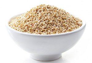 ciotola piena di quinoa