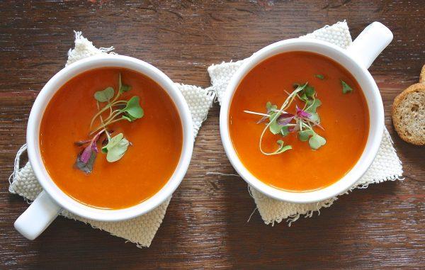 Due Zuppe di Pomodoro