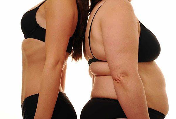 Donna magra e donna obesa