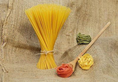 spaghetti e tagliatelle