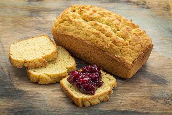 Pane con Farina di Mandorle e Cocco: senza glutine e pochi carboidrati