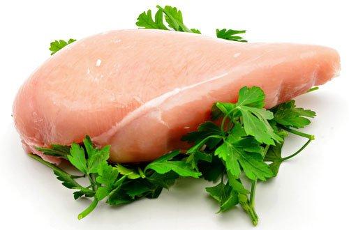 Petto di pollo senza pelle