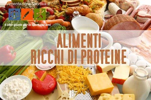 20 Alimenti ad alto contenuto proteico