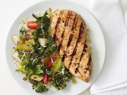 Dieta ricca di proteine ad alto contenuto di fibre