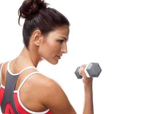 Esercizi con i pesi per gruppi muscolari specifici