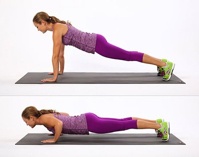 Esercizi plank