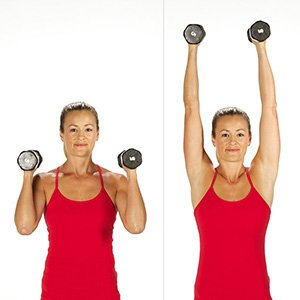 Overhead shoulder press