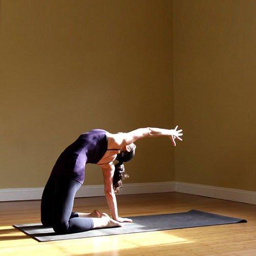Variante di stretching addominale